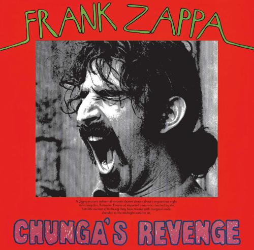 Frank Zappa. Chunga' s Revenge. CD.