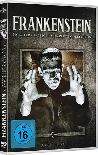 Frankenstein: Monster Classics (Complete Collection) 7 DVDs