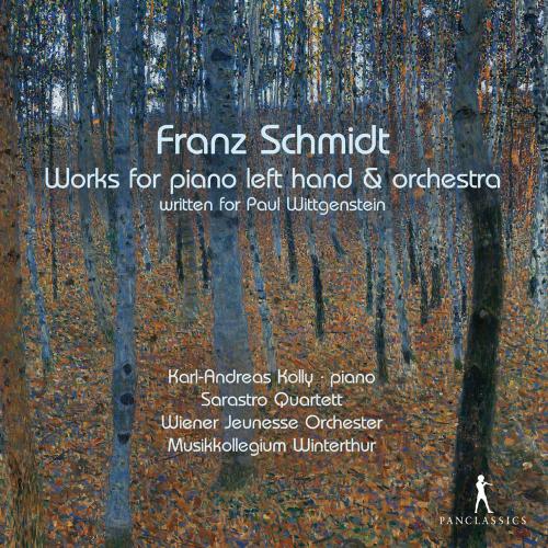 Franz Schmidt. Werke für Klavier linke Hand & Orchester. 2 CDs.