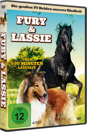 Fury & Lassie. 4 DVDs