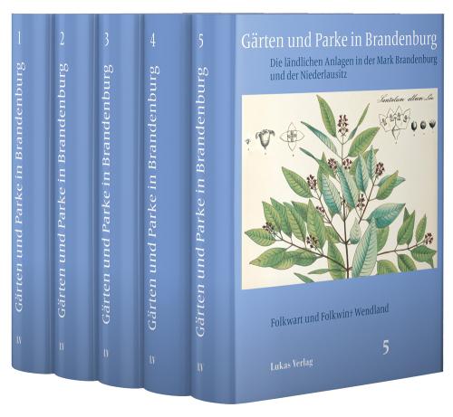 Gärten und Parke in Brandenburg. Die ländlichen Anlagen in der Mark Brandenburg und der Niederlausitz.
