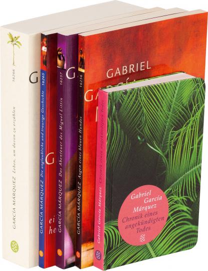 García Márquez Paket. 5 Bände.