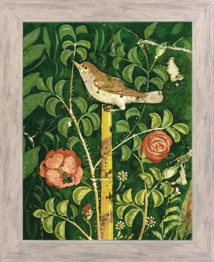 Gartenmalerei. Fresko römisch.