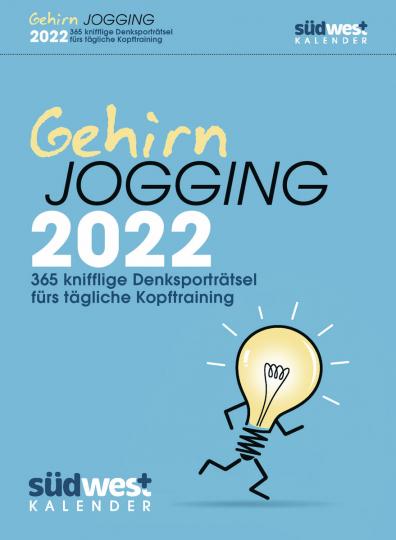 Gehirnjogging 2022 Tagesabreißkalender. 366 knifflige Denksporträtsel fürs tägliche Kopftraining.