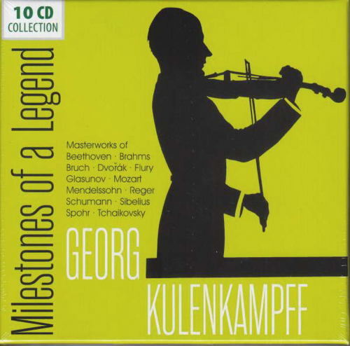 Georg Kulenkampff. Milestones of a Legend. 10 CDs.