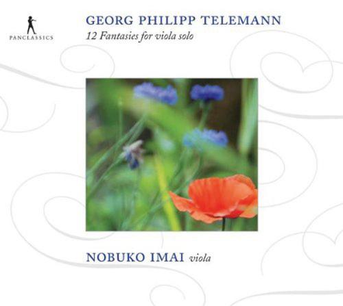 Georg Philipp Telemann. 12 Fantasien für Viola. CD.