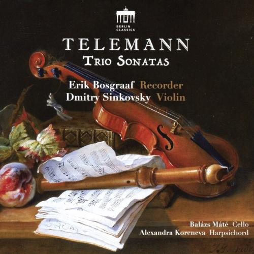 Georg Philipp Telemann. Trio Sonatas. CD.