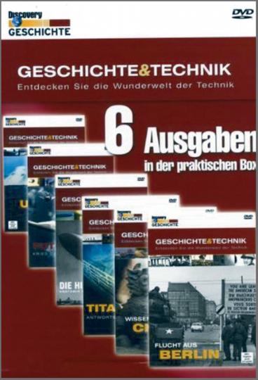 Geschichte & Technik Teil 1 - 6 DVD