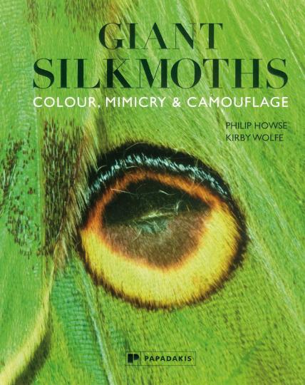 Giant Silkmoths. Colour Mimikry and Camouflage. Riesen-Seidenspinner und ihre Tarnung.