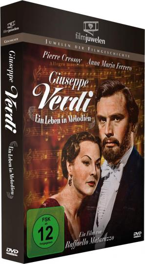 Giuseppe Verdi - Ein Leben in Melodien. DVD.