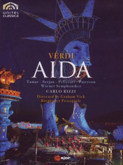 Giuseppe Verdi. Aida. DVD.