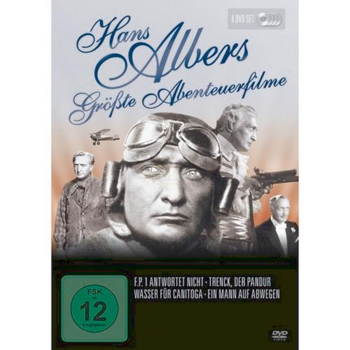Hans Albers. Größte Abenteuerfilme. 4 DVDs.