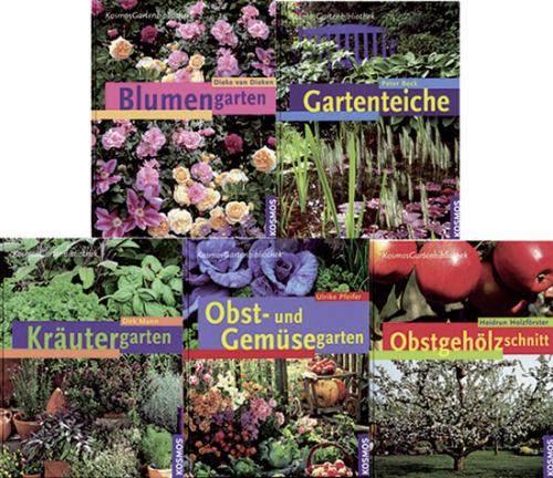 Große Gartenbibliothek. 6 Bände.