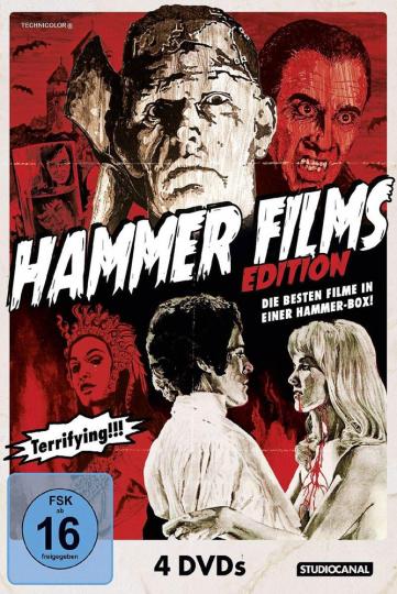Hammer Films Edition. 4 DVDs.