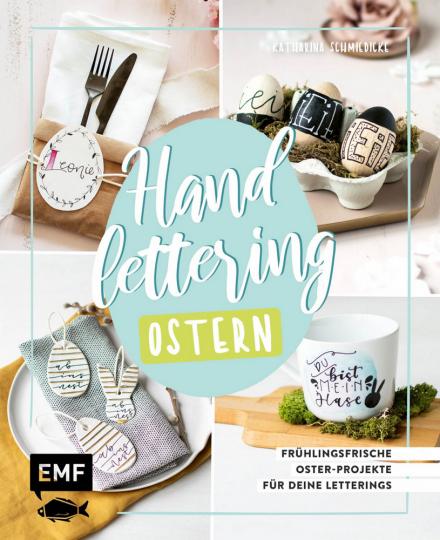 Handlettering Ostern.