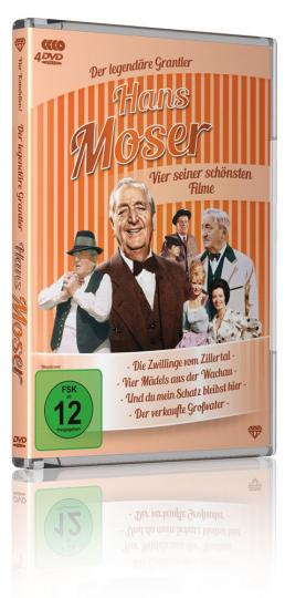 Hans Moser Box. 4 DVDs.