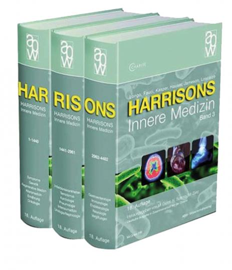 Harrisons Innere Medizin - 18. Auflage, 4 Bände