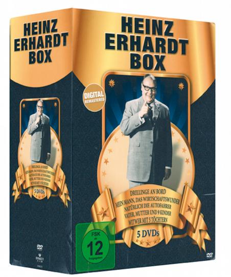Heinz Erhardt Box 5 DVDs