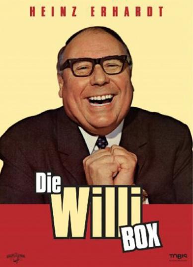 Heinz Erhardt: Die Willi-Box. 4 DVDs.