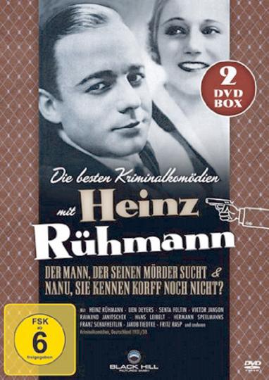 Heinz Rühmann Edition - Die besten Kriminalkomödien. 2 DVDs.
