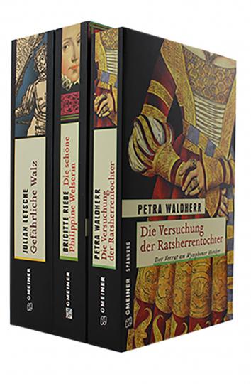 Historische Krimis 3 Bände