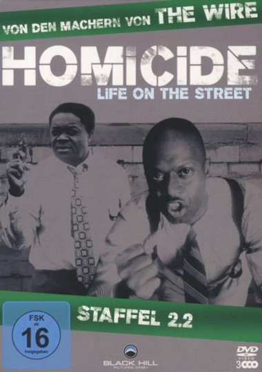 Homicide Season 2 Box 2. 3 DVDs.