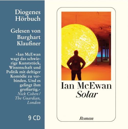 Ian McEwan. Solar. Roman. 9 CDs.