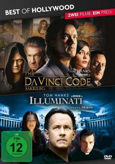 Illuminati / The Da Vinci Code - Sakrileg. 2 DVDs.