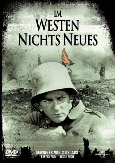 Im Westen nichts Neues. DVD.