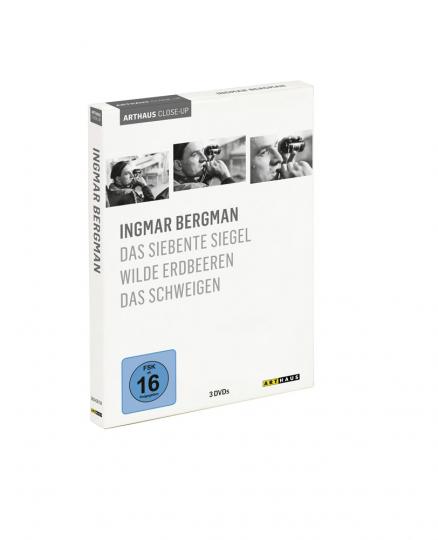 Ingmar Bergman. Das siebente Siegel, Wilde Erdbeeren, Das Schweigen. 3 DVDs.