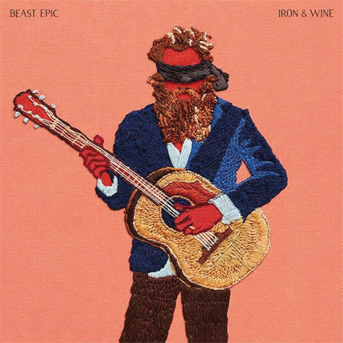Iron And Wine. Beast Epic - Deluxe Edition. 2 Vinyl LPs Red & Blue.