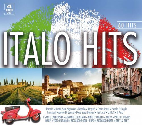 Italo Hits. 4 CDs.