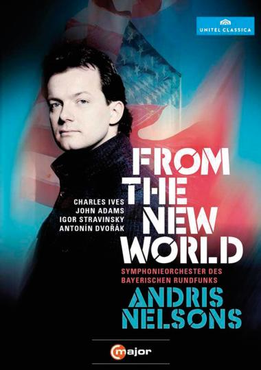 Ives, Adams, Strawinsky, Dvorák. From the New World.
