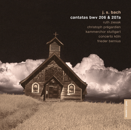 J.S. Bach. Kantaten BWV 206 & 207a. CD.