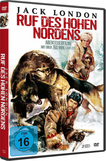 Jack London - Ruf des hohen Nordens. 3 DVDs.