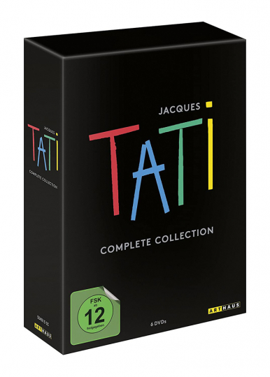 Jacques Tati Complete Collection. 6 DVDs.