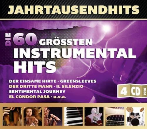 Jahrtausendhits. Die 60 größten Instrumentalhits. 4 CDs.