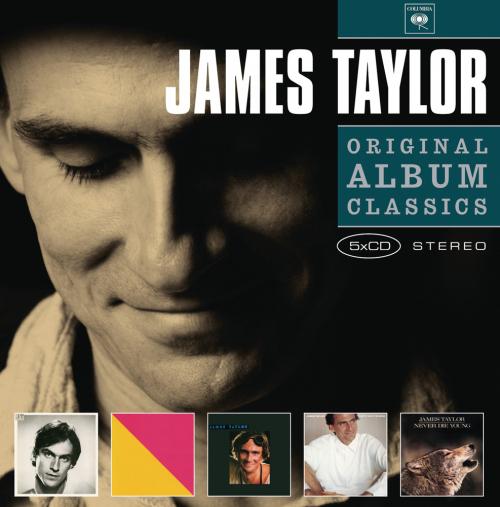 James Taylor. Original Album Classics. 5 CDs.