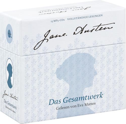 Jane Austen. Das Gesamtwerk. 13 mp3-CDs.