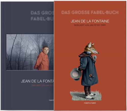 Jean de La Fontaine. Das große Fabel-Buch. Mit farbigen Bildern von Jan Peter Tripp.