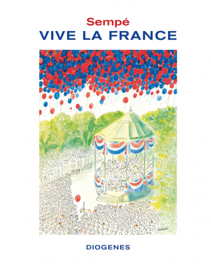 Jean-Jacques Sempé. Vive la France.