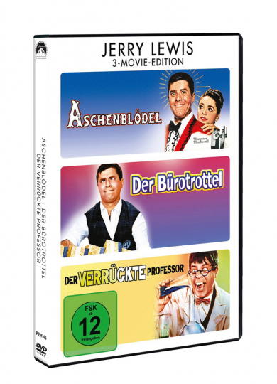 Jerry Lewis: 3-Movie-Edition. 3 DVDs.