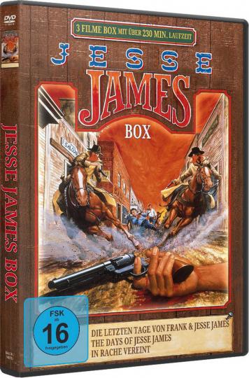 Jesse James Box. DVD.