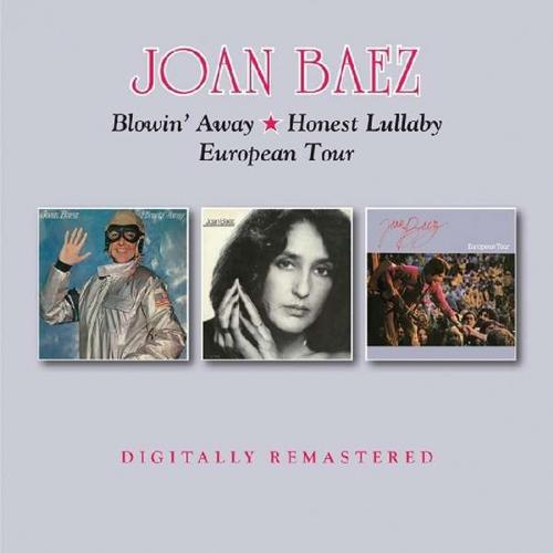 Joan Baez. Blowin Away/Honest Lullaby/European Tour. 2 CDs.