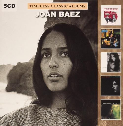 Joan Baez. Timeless Classic Albums. 5 CDs.