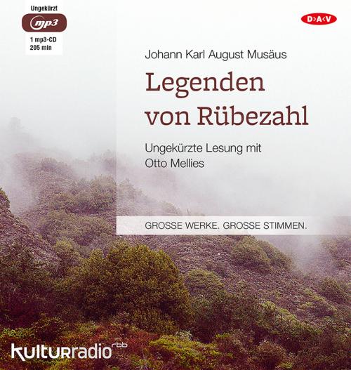 Johann Karl August Musäus. Legenden von Rübezahl. Hörbuch. 1 CD.