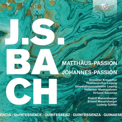Johann Sebastian Bach. Matthäus-Passion BWV 244 + Johannes-Passion BWV 245. 5 CDs.