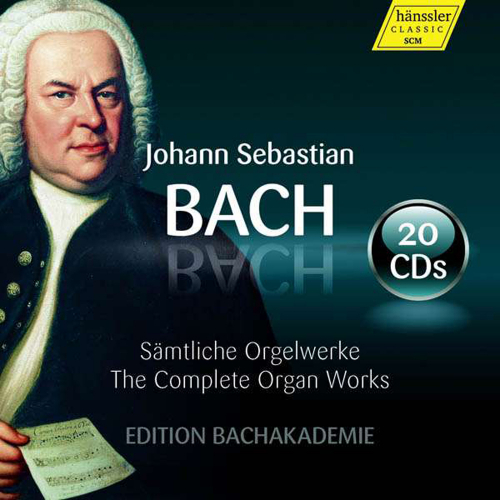Johann Sebastian Bach. Sämtliche Orgelwerke - Edition Bachakademie. 20 CDs.