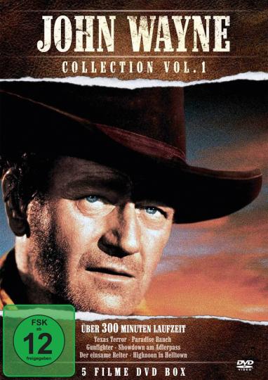 John Wayne Collection Vol. 1. DVD.