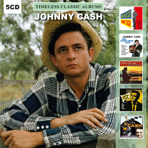 Johnny Cash. Timeless Classic Albums. 5 CDs.